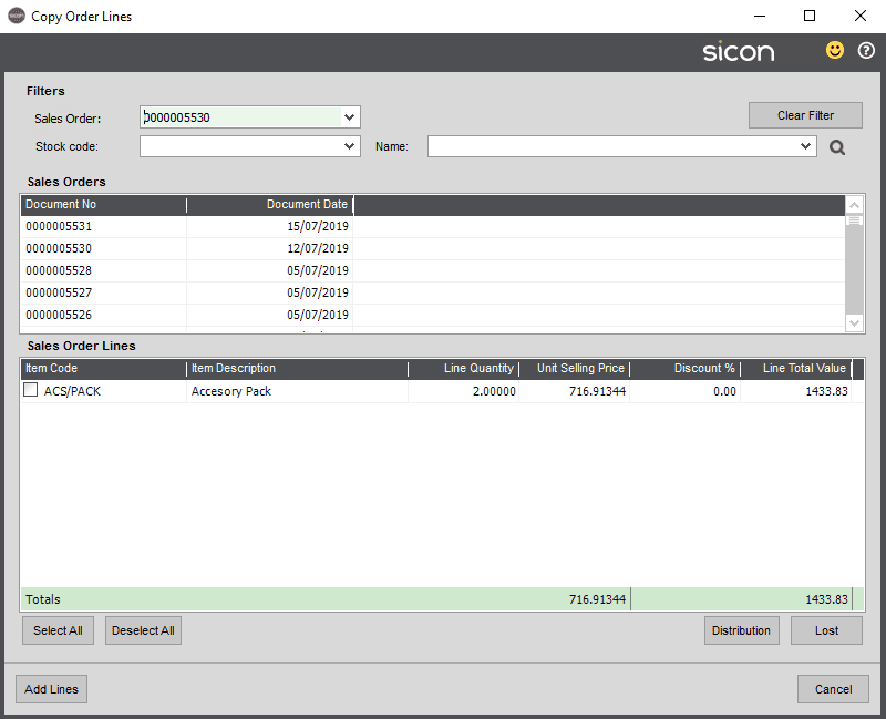 Sicon Distribution Help and User Guide - Pic16c