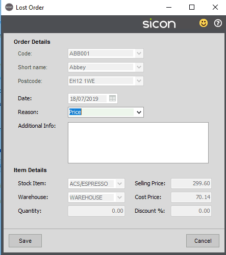 Sicon Distribution Help and User Guide - Pic20
