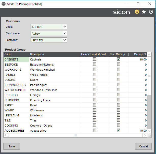 Sicon Distribution Help and User Guide - Pic45
