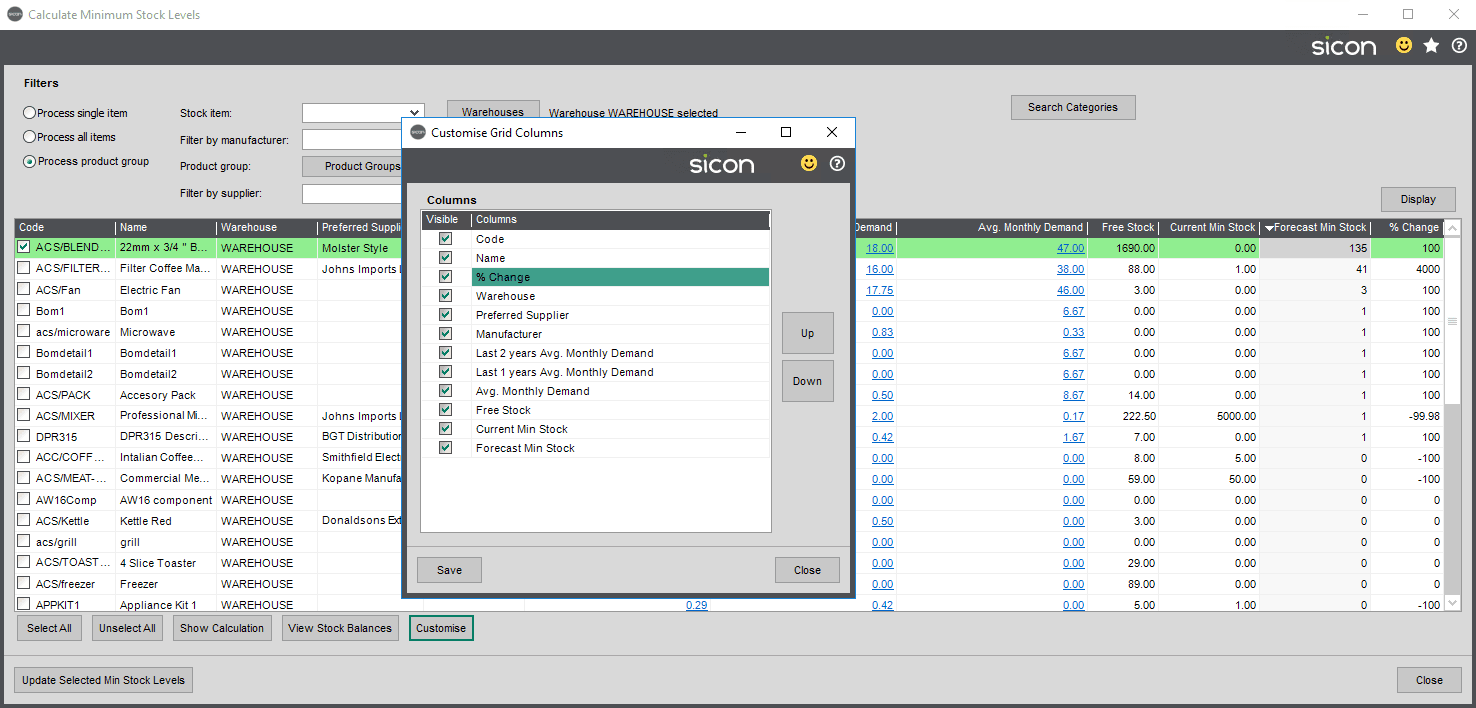 Sicon Distribution Help and User Guide - Pic80