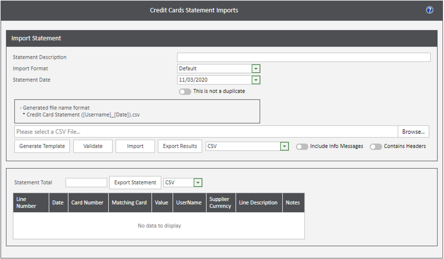 Sicon WAP Expenses Help and User Guide - Expenses HUG Section 12.4 Image 1