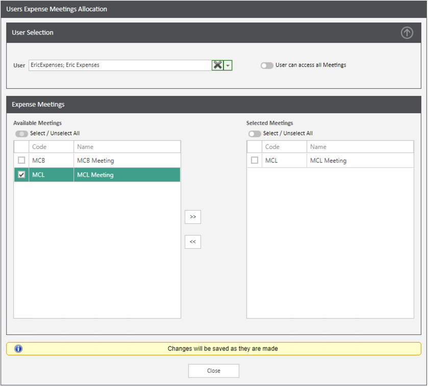 Sicon WAP Expenses Help and User Guide - Expenses HUG Section 15.3 Image 1