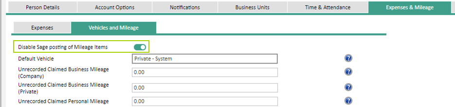 Sicon WAP Expenses Help and User Guide -Expenses HUG Section 18.1 Image 2