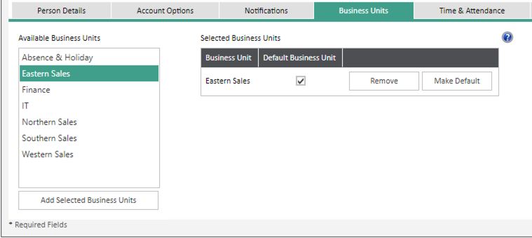 Sicon WAP Expenses Help and User Guide - Expenses HUG Section 22.2 Image 1