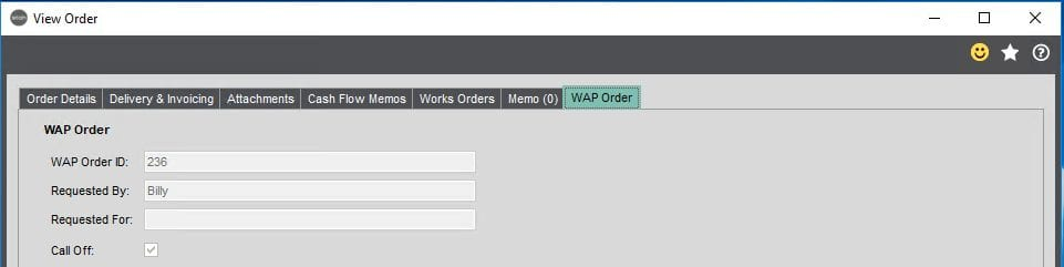 Sicon WAP Requisition Help and User Guide - Requisition Image 30 - Section 3.3
