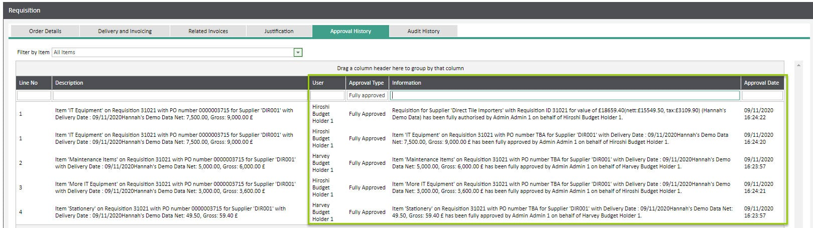 Sicon WAP Approval Routes Help and User Guide - WAP Approval HUG 5.5 - Image 4