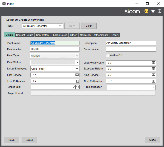 Sicon Projects Help and User Guide - SS10.2.1-1