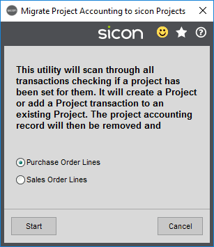 Sicon Projects Help and User Guide - SS15.7-1