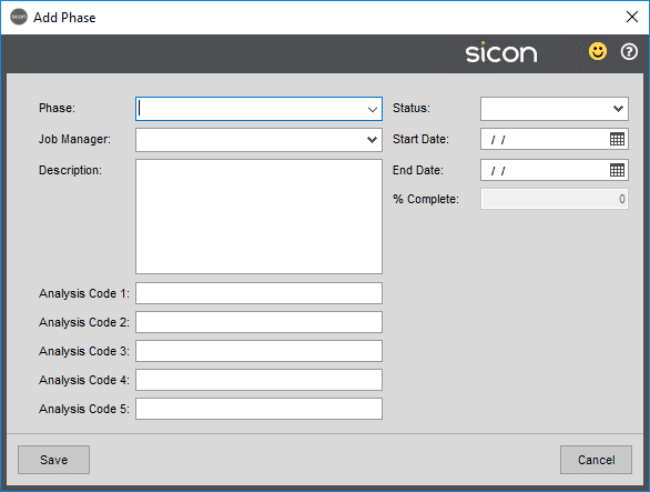 Sicon Projects Help and User Guide - SS3.1.5-2A