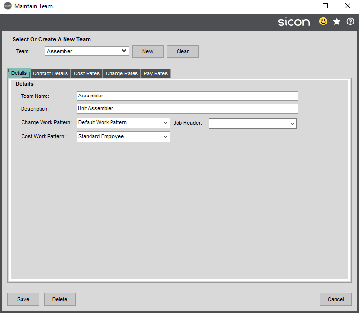 Sicon Projects Help and User Guide - SS3.14-1