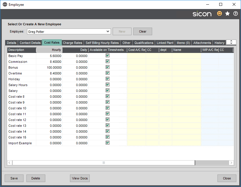 Sicon Projects Help and User Guide - SS3.5.3-1