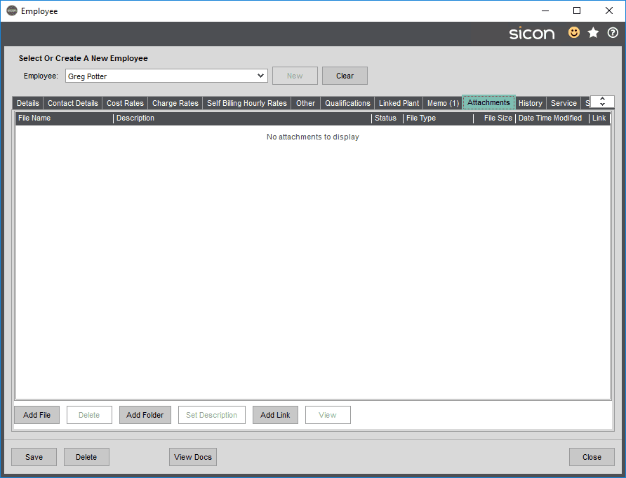 Sicon Projects Help and User Guide - SS3.5.8-1