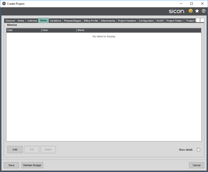 Sicon Projects Help and User Guide - ss3.1.4-1
