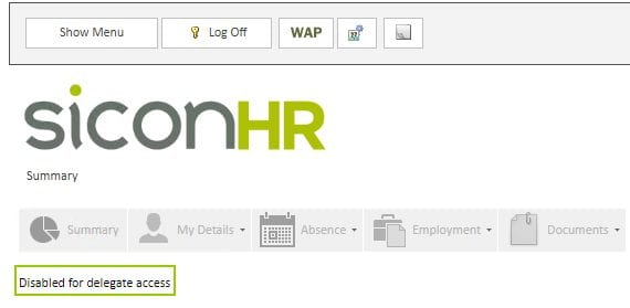 Sicon WAP HR Help and User Guide - HR HUG Section 12 Image 2