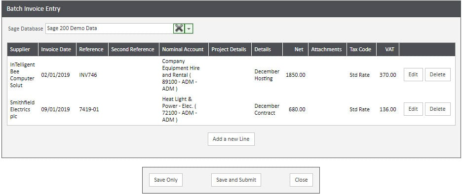 Sicon WAP Invoice Help and User Guide - Invoice HUG Section 12 Image 1