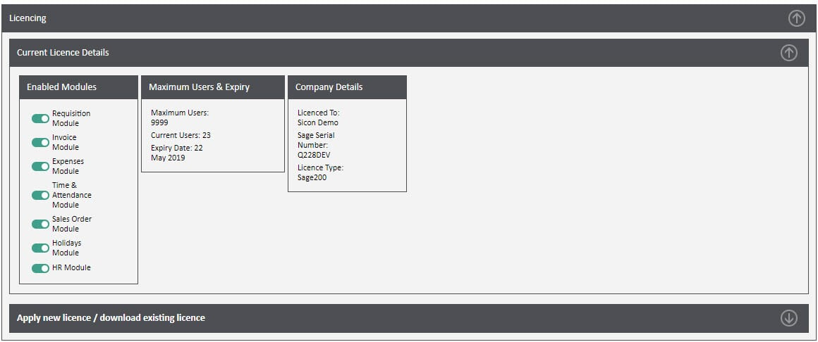 Sicon WAP Invoice Help and User Guide - Invoice HUG Section 19 Image 1
