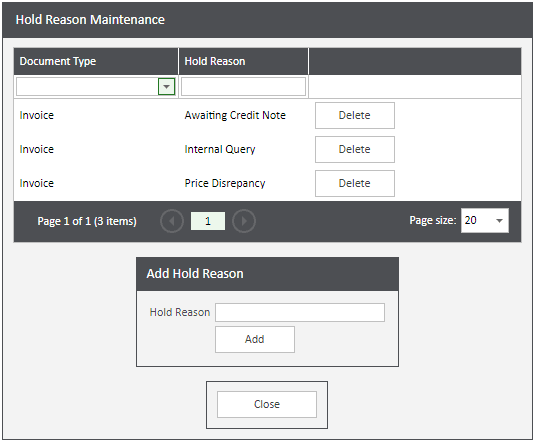 Sicon WAP Invoice Help and User Guide - Invoice HUG Section 4.3 Image 2