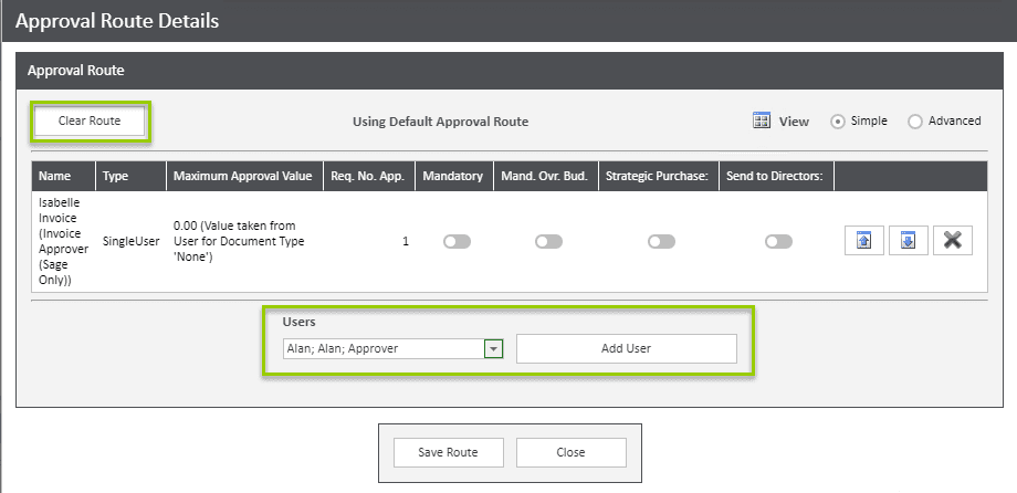 Sicon WAP Invoice Help and User Guide - Invoice HUG Section 6.4 Image 2