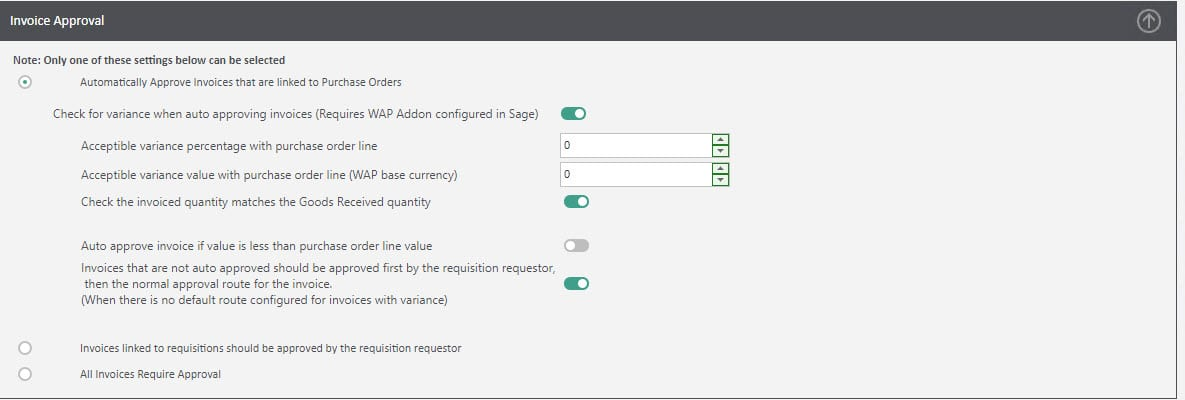 Sicon WAP Invoice Help and User Guide - Invoice HUG Section 7 Image 1