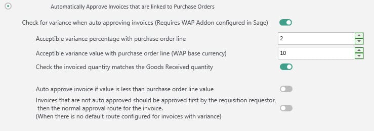 Sicon WAP Invoice Help and User Guide - Invoice HUG Section 7.1 Image 2