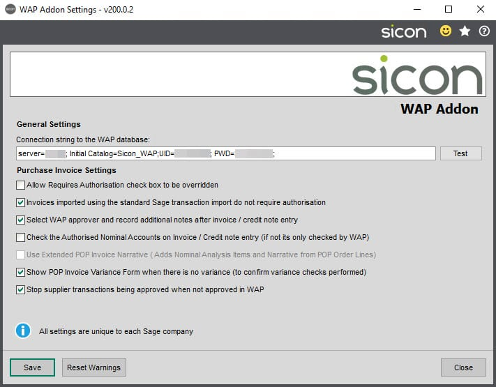 Sicon WAP Add-on Help and User Guide - WAP Addon HUG Image Section 2 Image 1