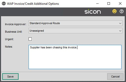 Sicon WAP Add-On Help and User Guide - WAP Addon HUG Image Section 2.4 Image 8