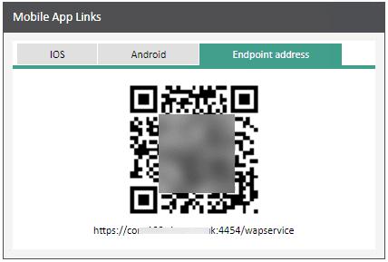 Sicon WAP App Help and User Guide - WAP App HUG Image Section 3.3 Image 1
