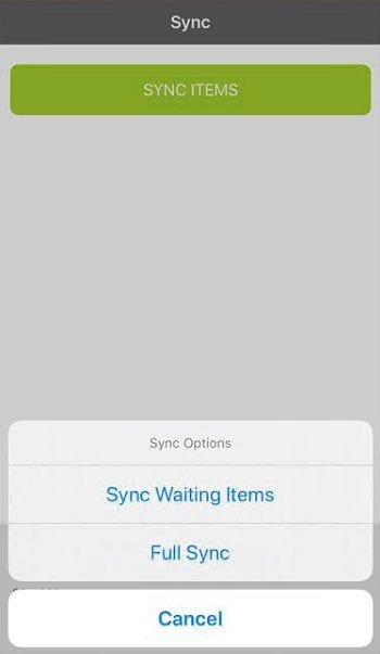 Sicon WAP App Help and User Guide - WAP App HUG Image Section 4.2 Image 2