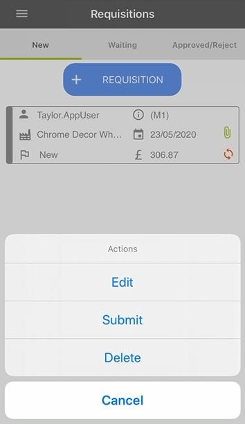 Sicon WAP App Help and User Guide - WAP App HUG Image Section 5.2 Image 13