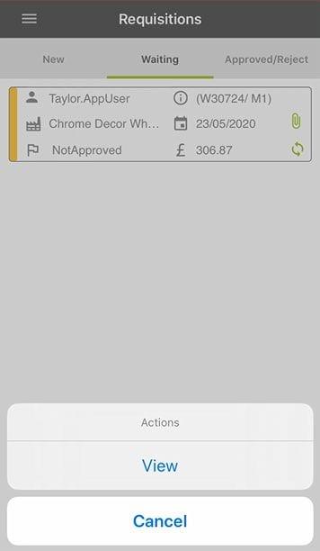 Sicon WAP App Help and User Guide - WAP App HUG Image Section 5.2 Image 25