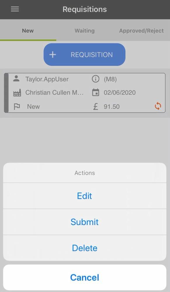 Sicon WAP App Help and User Guide - WAP App HUG Image Section 5.4 Image 8