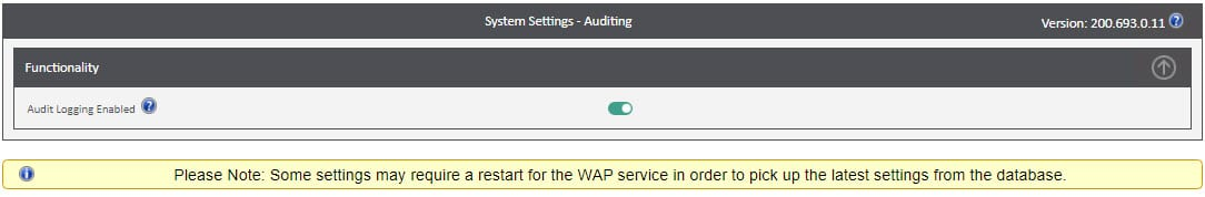Sicon WAP System Settings Help and User Guide - WAP System HUG Section 2 Image 1