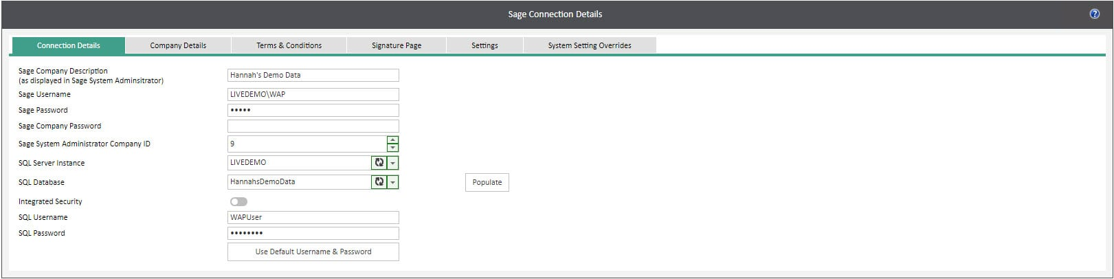 Sicon WAP System Settings Help and User Guide - WAP System HUG Section 29.1 Image 1