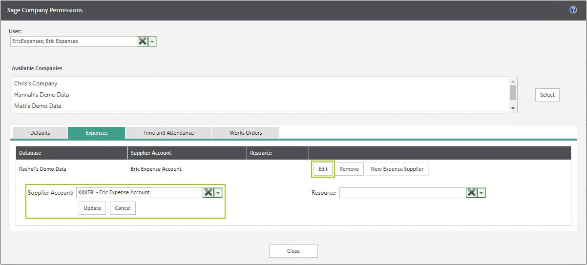 Sicon WAP Expenses Help and User Guide - Expenses HUG Section 1.1 Image 1