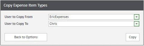 Sicon WAP Expenses Help and User Guide - Expenses HUG Section 3.5 Image 1
