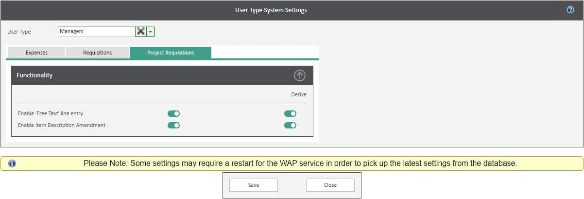 Sicon WAP User Settings Help and User Guide - Users HUG Image Section 23 Image 3