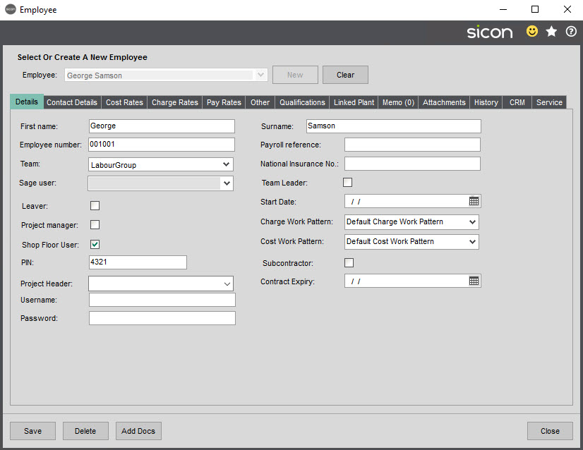 Sicon SFDC Help and User Guide - Pic1