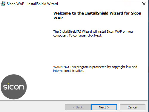 Sicon WAP Install Help and User Guide - WAP Install HUG 2.7 - Image 2