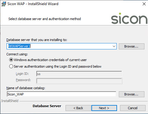 Sicon WAP Install Help and User Guide - WAP Install HUG 2.7 - Image 3