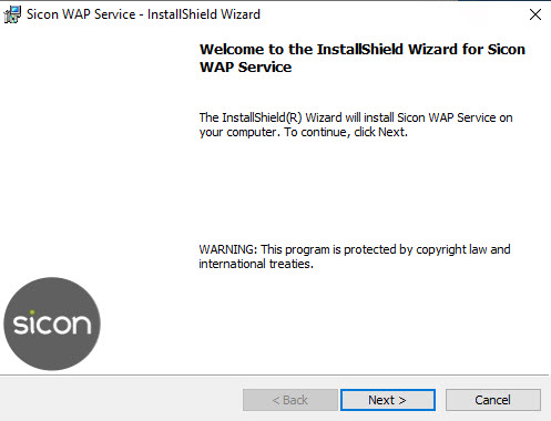 Sicon WAP Install Help and User Guide - WAP Install HUG 2.8 - Image 2