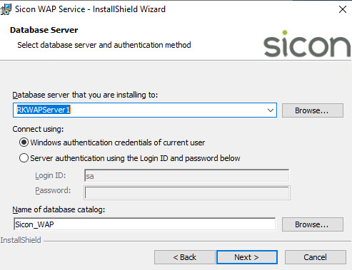 Sicon WAP Install Help and User Guide - WAP Install HUG 2.8 - Image 3