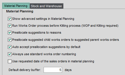 Sicon Material & Resource Planning Help and User Guide - Pic101