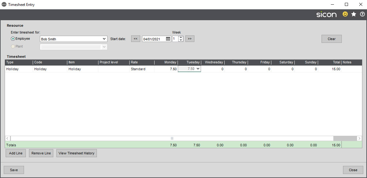 Sicon Material & Resource Planning Help and User Guide - Pic119
