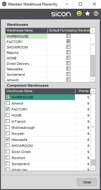 Sicon Material & Resource Planning Help and User Guide - Pic2