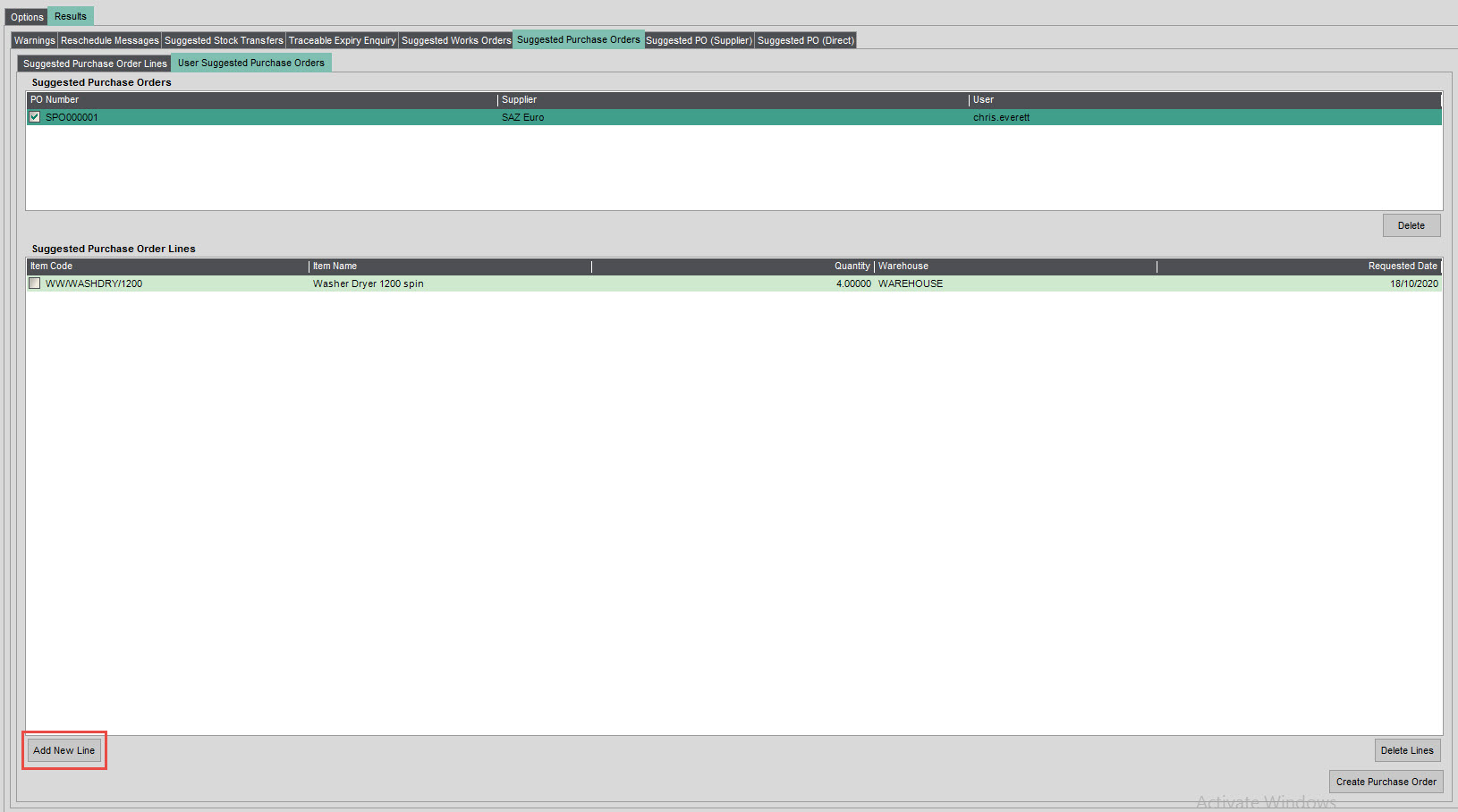 Sicon Material & Resource Planning Help and User Guide - Pic22