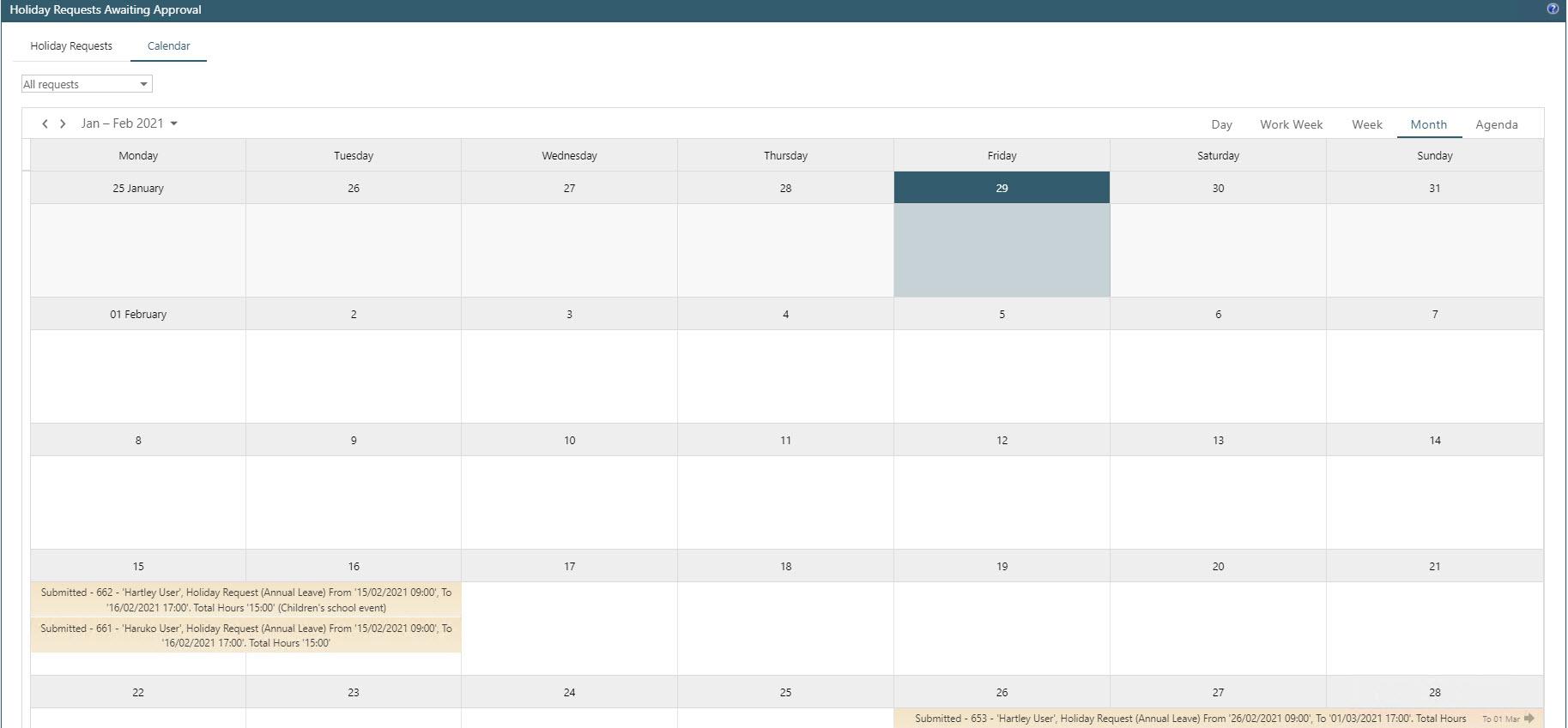 Sicon WAP Holidays Help and User Guide - WAP Holidays HUG Section 13.5 - Image 1