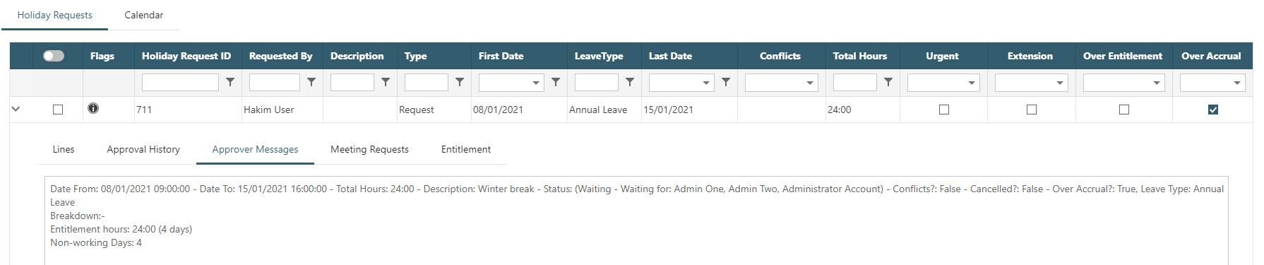 Sicon WAP Holidays Help and User Guide - WAP Holidays HUG Section 16.3 - WAP Holidays HUG Section 16.3 - Image 3