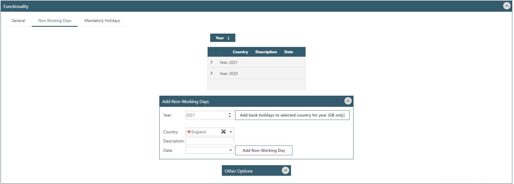 Sicon WAP Holidays Help and User Guide - WAP Holidays HUG Section 3.2 - Image 1