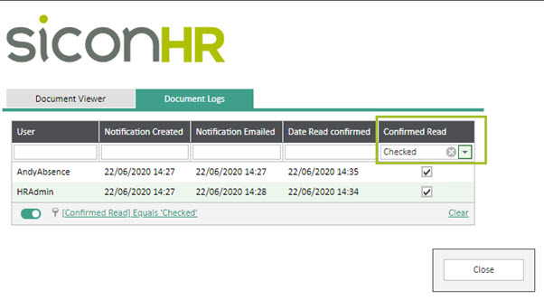 Sicon WAP HR module Help and User Guide - HR HUG Section 11.7 Image 4