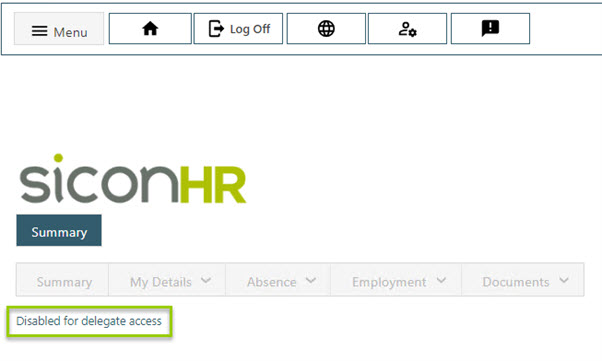 Sicon WAP HR module Help and User Guide - HR HUG Section 16 Image 4
